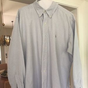 Ralph Lauren Yarmouth 100% Cotton Oxford